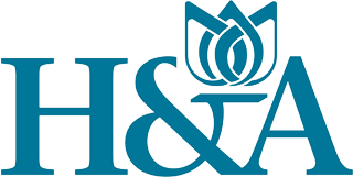 H A mechanical services logo